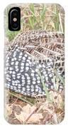 Male Montezuma Quail 5-6-14 IPhone Case