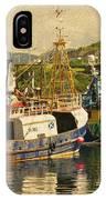 Mallaig Harbourside  IPhone Case