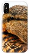 Mallard Hen Close Up IPhone Case