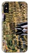 Mallards In The Reeds IPhone Case