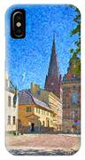 Malmo Stortorget Painting IPhone Case