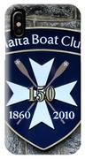Malta Boat Club IPhone Case