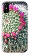 Mammillaria Vagaspina. IPhone Case