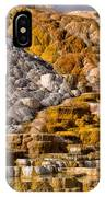 Mammoth Hot Spring IPhone Case