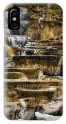 Mammoth Hot Springs - Yellowstone IPhone Case