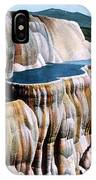 Mammoth Hot Springs Yellowstone Np IPhone Case