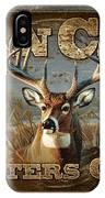 Man Cave Deer IPhone Case