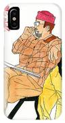 Man Drawing IPhone Case