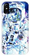 Man On The Moon - Watercolor Portrait IPhone Case
