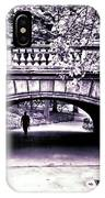 Man Under The Bridge IPhone Case