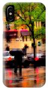 Reflections - New York City In The Rain IPhone Case