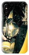 Man With Gas Mask. New Beginning. Skys The Limit IPhone Case