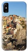 Manarola At Dusk IPhone Case