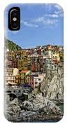 Manarola Italy Dsc02563  IPhone Case