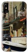 Manarola  Street - Cinque Terre IPhone Case
