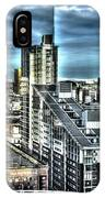 Manchester Buildings Hdr IPhone Case