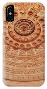 Mandala - Jain Temple Ceiling - Amarkantak India IPhone Case