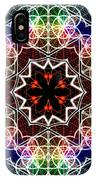 Mandala Cage Of Light IPhone Case