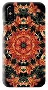 Mandala Daylily IPhone Case