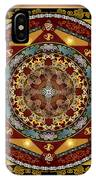 Mandala Oriental Bliss Sp IPhone Case