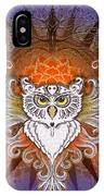 Mandala Owl IPhone Case