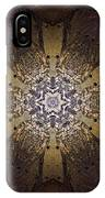 Mandala Sand Dollar At Wells IPhone Case