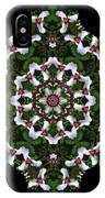 Mandala Trillium Holiday IPhone Case