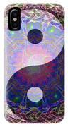 Mandala Yin Yang IPhone Case
