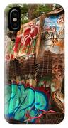 Mangled Whistler Train Wreck Box Car IPhone Case