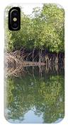 Mangrove Refelections IPhone Case