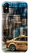 Manhattan - Yellow Cabs - Future IPhone Case