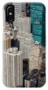 Manhattan Bryant Park IPhone Case