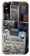 Manhattan From Above IPhone Case