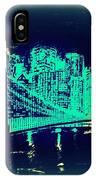 Manhattan In Blue IPhone Case
