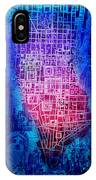 Manhattan Map Abstract 5 IPhone X Case