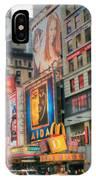 Manhattan's Theater District IPhone Case
