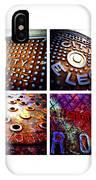 Manholes_06.02.12 IPhone Case