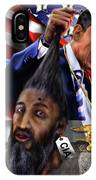 Manifestation Of Frustration - I Am Commander In Chief - Period - On My Watch - Me And My Boys 1-2 IPhone Case