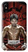 Manny Pacquiao Artwork 1 IPhone Case