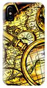 Map And Compass IPhone Case