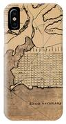 Map Of Alexandria 1798 IPhone Case
