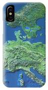 Map Of Europe IPhone Case
