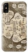 Map Of Japan IPhone Case