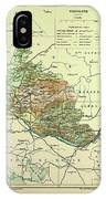 Map Of Vaucluse France IPhone Case