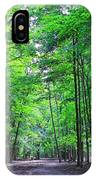 Maple Forest IPhone Case