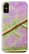 Maple Leaf Macro IPhone Case