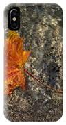 Maple Leaf - Playful Sunlight Patterns IPhone Case