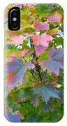 Maple Magnetism Painting IPhone Case