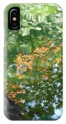 Maple Reflections IPhone Case