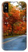 Maple Road IPhone Case